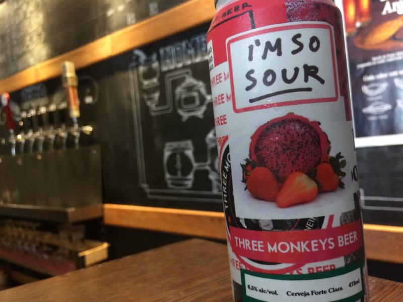 Cerveja Sour Three Monkeys