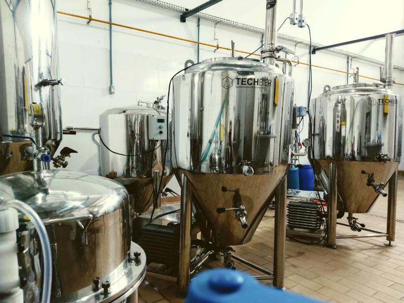 Fábrica da Cervejaria Cariniana em Amargosa