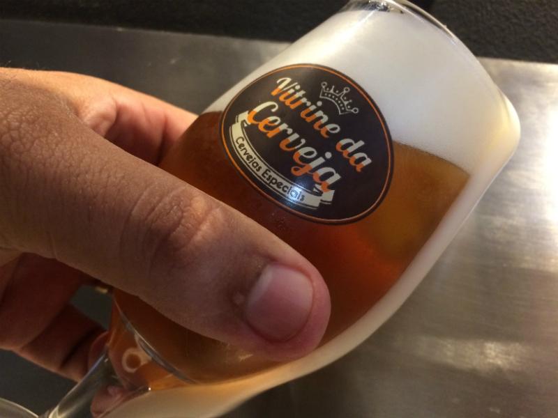 chopp artesanal Vitrine da Cerveja