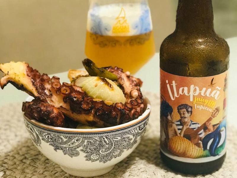 cerveja Itapuã juicy IPA da Água de Meninos