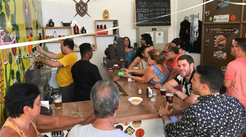 bar da fábrica Cervejaria Mascarenhas
