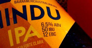 rótulo da cerveja Minduipa