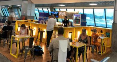 Bar da Proa no aeroporto de Salvador